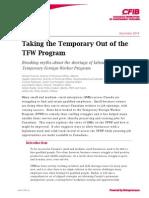 CFIB TFW report - Dec. 1, 2014
