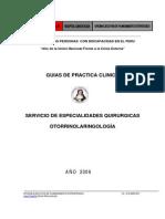 Guia Eq Otorrinolaringologia 2009