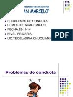 Problemas de Conducta Clase II Semestre