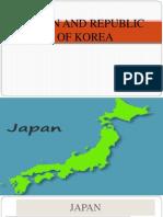 Japan and Korea export import analysis