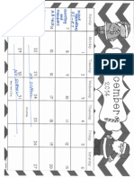 December IXL Calendar