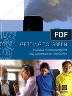 Getting to Green a sourcebook for pollution management