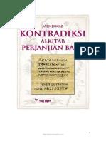 Menjawab Kontradiksi Alkitab (Perjanjian Baru)