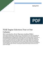 Klutenbacher Bmayeaux Jwaller Me4633 Fsae Report