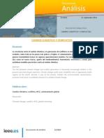 Cambio Climatico y Conflictos