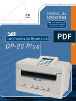 Manual Impressora Bematech Dp20