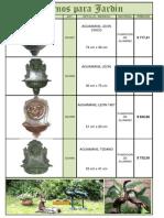 (a2) Adornos Para Jardin