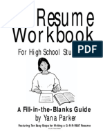 resume workbook