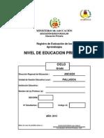 Registro de Evaluación de los Aprendizajes - Primaria2013.xls