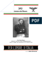 Calendario Memoria 2012