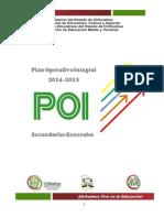 Plan Operativo Integral