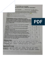 over all completed assessment form for website
