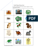 food chains picture sort