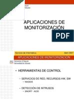 Aplicaciones de MonitorizaciÓn