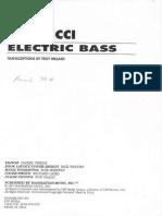Bass Book John Patitucci Electric Bass
