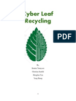 cyber leaf recycling business plan complete