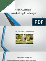 textron aviation marketing challenge