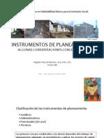 Clase 1 - Instrumentos de Planeamiento