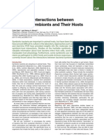 Molecular Interactions between Bacterial Symbionts and Their Hosts