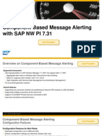 PI Message Alerting PI7.31 SolMan7.1SP5 ComponentBased Alerting
