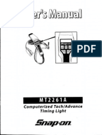 Snap-On MT2261A User Manual