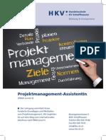 Lehrgang Projektmanagement-AssistentIn
