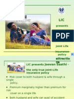 Jeevan Saathi  for Husband & Wife who wants joint life risk cover under a single policy.