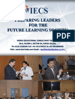 IECS Preparing Leaders for the Future Learning Society-Report 2009
