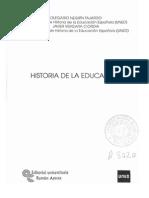Historia de La Educación.
