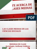 Las Clases Medias en Las Ciencias Sociales