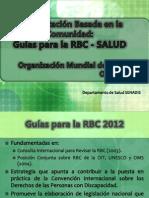 2. Componente Salud - Guías Para La RBC OMS_2012