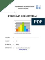 Formulas 2014 II