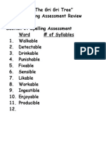 the gri gri tree reading assessment review