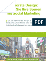 Existenz 2014 Corporate Design Legen Sie Ihre Spuren Mit Social Marketing