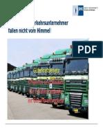 Existenz 2014 Qualifizierte Verkehrsunternehmer Fallen Nicht Vom Himmel 2. Guet