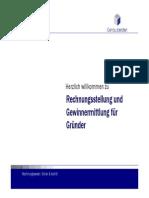 Existenz 2014 Rechnungsstellung Und Gewinnermittlung Fuer Gruender