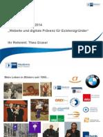 Existenz 2014 Website Und Digitale Praesenz Fuer Existenzgruender