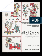 French Catalogue on PreHispanic Codices