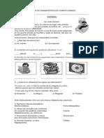 Examen de Diagnostico 4º Grado