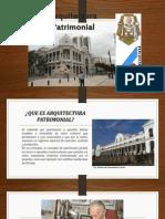 ARQUITECTURA PATRIMONIAL