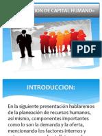 Planeacion de Capital Humano,Oferta y Demanda Equipo#2 - Copia
