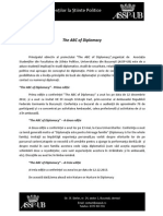 The ABC of Diplomacy Descriere