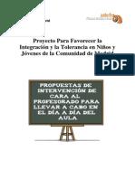 Propuestas de Aula Para Profesorado
