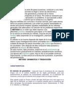 Metodo Gramatica Traduccion Marco Teorico