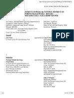 CENOZ v. NATIONAL DEFAULT SERVICING CORPORATION et al docket