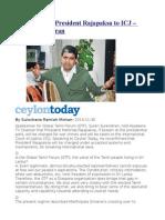 GTF Will Take President Rajapaksa to ICJ – Suren Surendiran