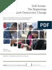 Still Awake-The Beginnings of Arab Democratic Change,