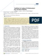 Liquid-Liquid Phase Equilibria for Soybean Oil Methanolysis