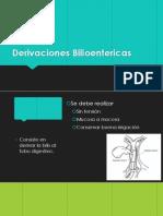 Derivaciones Bilioentericas