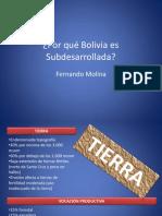29_Por Qué Bolivia Es Subdesarrollada